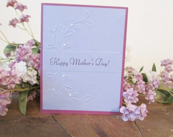 Mother's Day Card - Purple