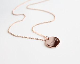 Rosegold locket necklace custom engraved locket necklace engraved rosegold locket necklace custom engraved locket necklace engraved necklace customized necklace personalized aloadofball Images
