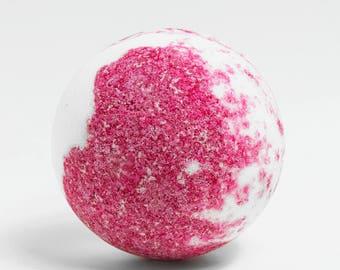 Blackcurrant Bath Bomb - Bath Fizzy - Handmade & Natural - Luxury Bath Soak - Bath Ball - Vegan Friendly - Relaxing Bath - Skin Moisturising
