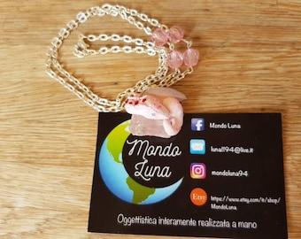 Pink quartz wyvern