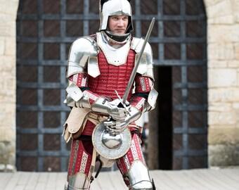 """Medieval Full Armor Costume """"The Kingmaker"""""""