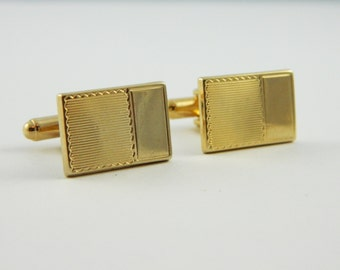 Gold Postcard Cuff Links - CL023