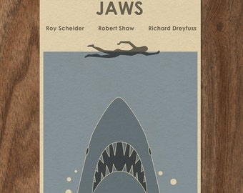 JAWS 22x16 Movie Poster