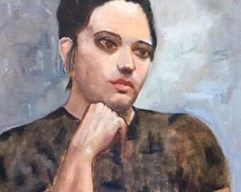 Pensive Maiden