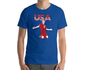 Christian Pulisic USMNT Goal Celebration USA Soccer Fan T-Shirt