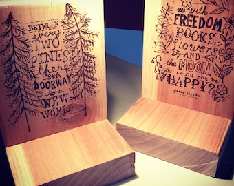 Book Lover Quotes Bookend