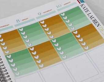 January Planner Stickers for Erin Condren Planner, Full Boxes, January Stickers, January Checklists