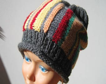 Multi color stripes Hat
