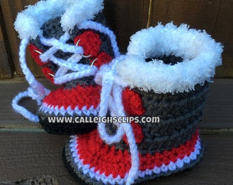 Winter Slipper Booties