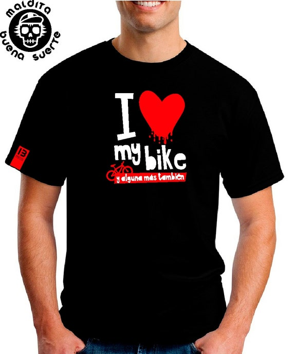 MBS I love my bike shirt