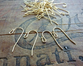 Gold Ball Earwires Gold Ear Wires (5 Pair)