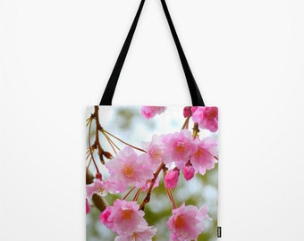 Cherry Blossom Tote Bag - Photo Tote
