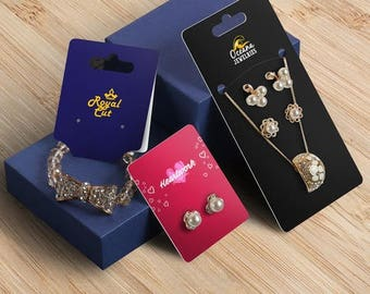 300pcs jewelry hang tags,custom jewelry hang tags,custom printed jewelry hang tags, custom hang tags for jewelry,jewelry tags custom printed