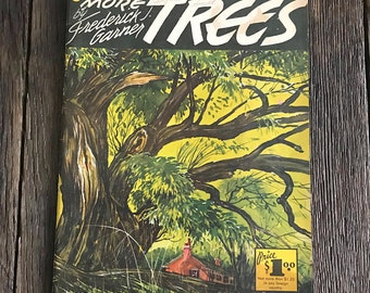 Vintage Art Magazine - Vintage How To Art Books - How To Draw Trees By Frederick J Garner - Vintage Art Instructional Book - Tree Art Book