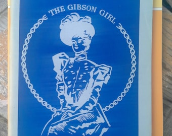 The Gibson Girl Souvenier Program from 1964, Cincinnati, Ohio Doll Club convention book for collectors and doll historians, fashion dolls