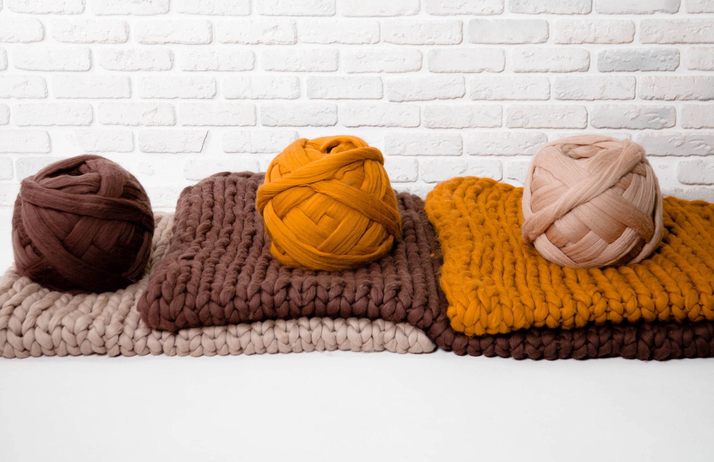 Riesen Wolle für Arm Knitting übergroße Garn Mega sperriges
