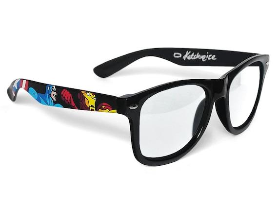The Avengers custom glasses unique gift for him gift for her
