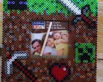 Mine Craft Picture Frames