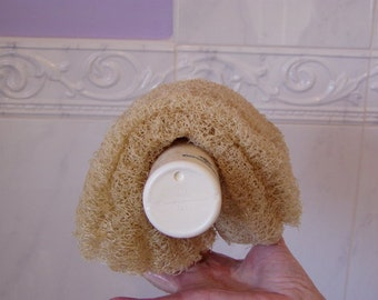 HALF Genuine Natural Egyptian Loofah to exfoliate and rejuvenate the skin
