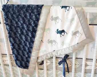 Minky Crib Blanket - Custom Made