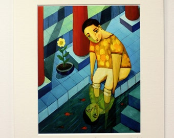 Reflejo - Fine art Giclée print - Limited edition