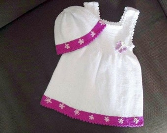Baby christening gown, christening dress