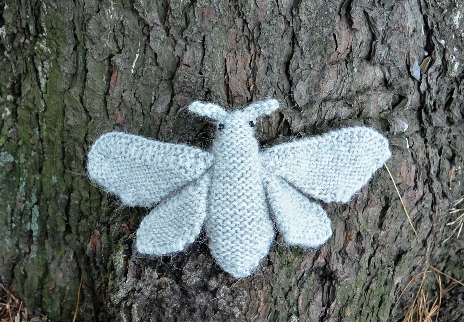 Knitting Pattern BUTTERFLY - PDF Instant Download - Easy Knitting ...