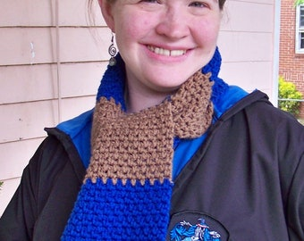 Wizard Inspired House Colors Scarf - Made to Order