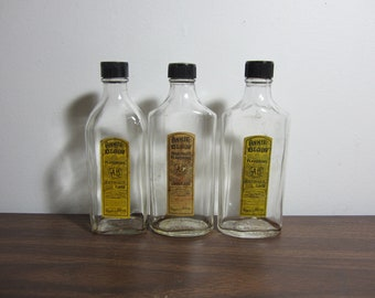 Antique Extract Bottles (Set of Three or Individually)
