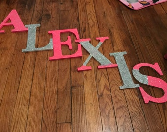 Make it Sparkle Glitter Letters