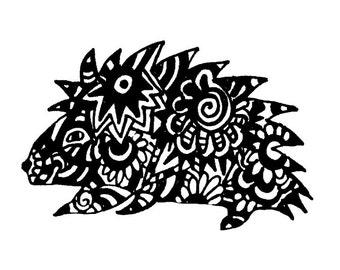 Porcupine Notecards