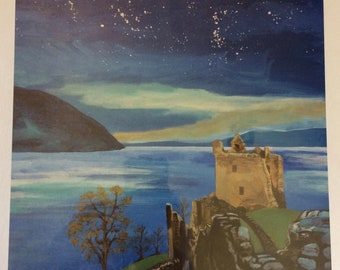 Starry Starry Night - Urquhart Castle Print