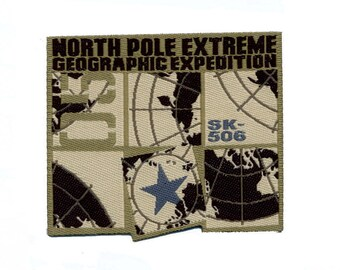 patch fusible North Pole shipping