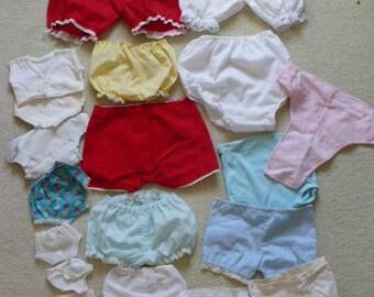 20 Piece Doll Underwear Lot
