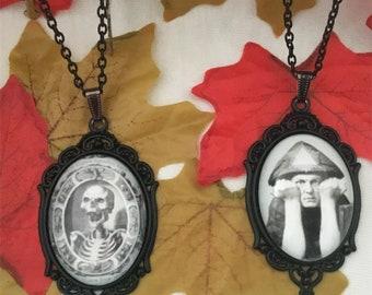 Handmade Gothic Cameo Necklaces