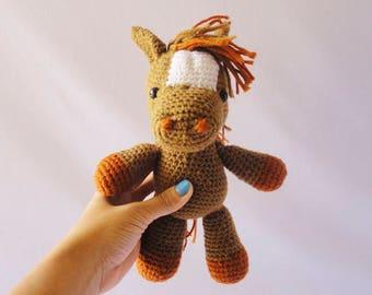 Horse / Horseman / Montessori figures / waldorf sensory toys / Toddler Toys / New Baby Gift/ Valentine's Day / soft toys / Baby Girl Gift