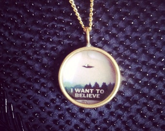 I Want To Believe Necklace