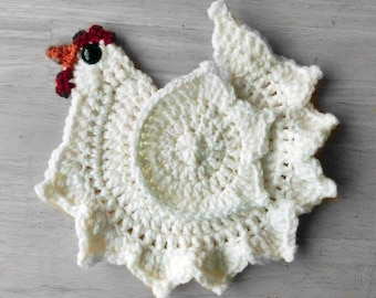 Crochet Chicken Pattern