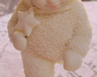 """Dept. 56 Retired Snowbabies Starlight Game Collection """"First to the Finish"""""""