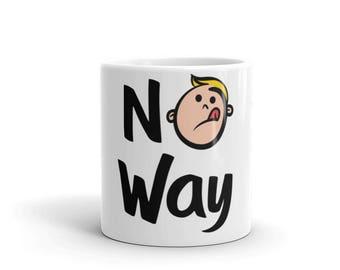 No Way Kid's Art Mug / Love the Kid Art