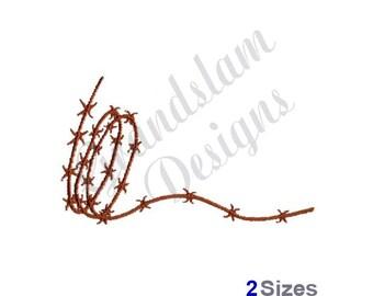Barbed Wire - Machine Embroidery Design