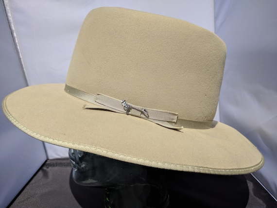 1960s John B. Stetson Company THE SOVEREIGN STETSON Size 7 4df0d91c190