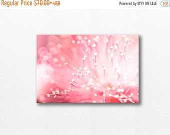 ON SALE abstract photography canvas flower photography 12x12 24x36 fine art photography floral canvas art wall decor nursery pink canvas wra