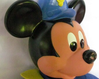 Mickey Mouse Doll 1990 Walt Disney Doll Squeaky Musical Mickey Mouse Toddler Musical Toy Disneys Characters Mickey Mouse Large Figurine Doll