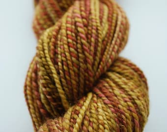 Handspun Worsted Weight Two-ply BFL Yarn