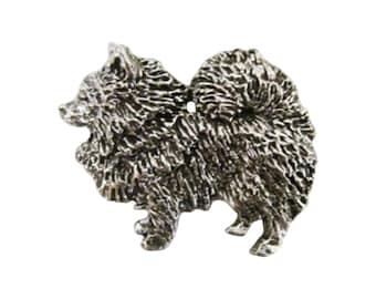 Full Body Pomeranian ~ Lapel Pin/Brooch ~ D440F,DC440F,DP440F,DP440AF,DP440BF