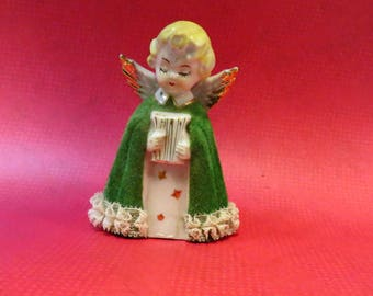 Vintage Mid Century Porcelain Japan Choir Angel Figurine
