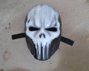Punisher mask (marvel)