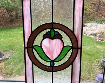 Custom Vintage Stain Glass window.