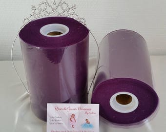 Roll of tulle, eggplant, high quality tutu skirts and dresses, Carnival costumes, parties